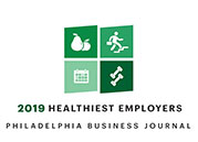 2019 Healthiest Employer - Philadelphia Business Journal